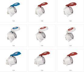 冷藏箱插头插座 冷藏集装箱专用插头 冷藏集装箱专用插座 冷藏箱专用插座