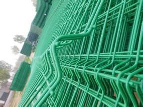 花坛护栏网三折弯护栏网绿地围栏网