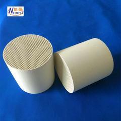 8203;厂家供应大量现货蜂窝陶瓷蓄热体 圆柱形铝质瓷蜂窝陶瓷