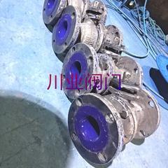 手动搪瓷放料球阀 Q41TC-10 DN100