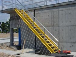 玻璃钢爬梯玻璃钢楼梯玻璃钢直梯玻璃钢扶梯