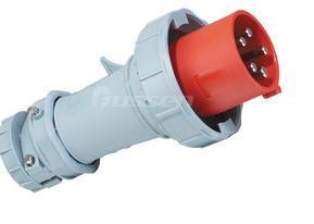 冷藏集装箱专用插头插座32A 3H连接器 5极 工业插头插座