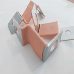设备接地软铜排 新能源非标柔性软连接 铜箔软连接
