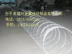 螺旋型刀片刺网