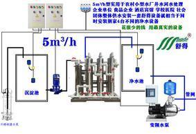 凈水器農村水廠井水河水不加藥凈水設備自動生產線