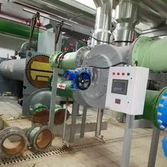 全自动管刷在线清洗系统WSA管道自动清洁装置