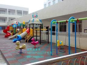 深圳小区滑梯,幼儿园滑梯,物业小区游乐架玩具