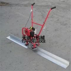 QZPC汽油机动力混凝土振平尺 铺水泥道路振捣尺