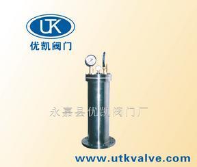 YQ9000型活塞式水锤吸纳器