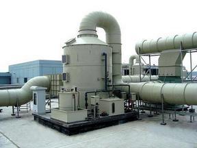 锅炉烟气脱硫除尘器