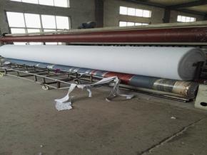 600g/m2长丝无纺土工布