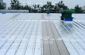 西安钢结构金属屋面防水维修公司_西安厂房漏水就找蓝箭卓越防水堵漏