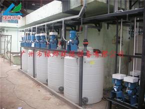 加药搅拌机装置 绿烨环保
