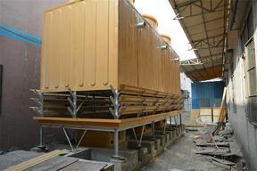 125吨玻璃钢冷却塔菱电冷却塔