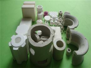 17%氧化铝陶瓷散堆填料 化工陶瓷