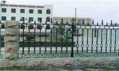 铸铁围墙、铁艺栏杆
