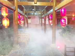 川渝地区新一代夏季降温设备-水造冷雾造景价格-雾景艺术小品