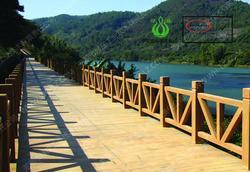 仿木护栏,河道护栏,景观护栏,绿化护栏