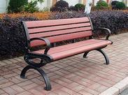 河南洛阳塑木公园椅供应商厂家推荐郑州石材休闲座椅桌椅