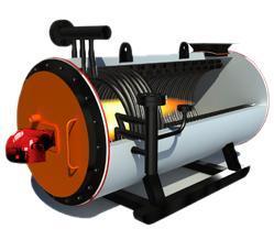 纺织行业专用卧式燃气导热油炉