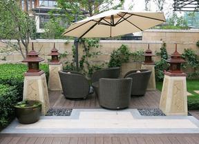 别墅户外庭院有什么设计,五行园林提供专业定制服务