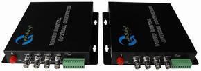 4V1D正向视频光端机 ,QS-4V1D-O