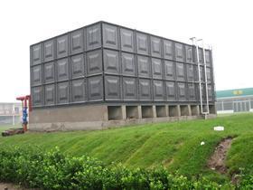 装配式搪瓷钢板水箱北京麒麟公司