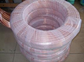 中旺厂家直销TPU无氧紫铜盘管空调专用盘管软