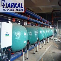 水刺无纺布循环水以色列阿科AGF砂滤器印染废水处理
