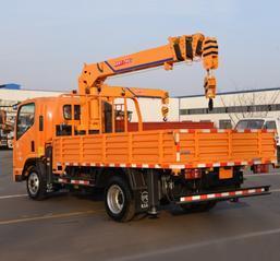 骏熙国五四吨随车吊 蓝牌自制四吨随车吊 四不像车改装起重机
