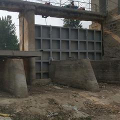 钢坝、合页坝、卧倒坝、景观闸门 找河北龙港水工