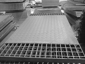 生产批发热镀锌钢格板走道栈桥平台钢格栅板产品