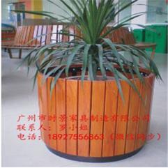 阳台种菜盆种植箱碳化实木花箱花槽长方形多肉大盆户外长条花盆