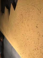 民宿稻谷泥墙和夯土墙