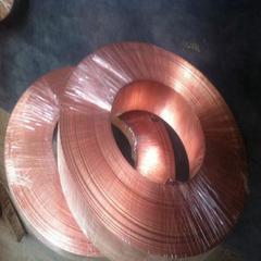中旺现货销售加工T2紫铜镀镍铜带C1100紫铜超薄铜带镀金加工
