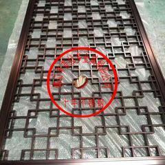 厂家直销不锈钢屏风金属格栅背景墙镂空艺术隔断花格装饰定制