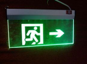 背光源诱导疏散灯