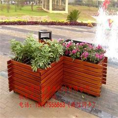 防腐木花箱长方形大号碳化木花盆室内盆栽盆阳台种菜盆户外种植箱