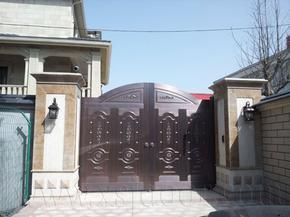 纯铜智能庭院门 院墙门 围墙门