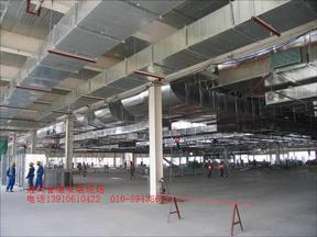 长沙中央空调通风管道安装改造