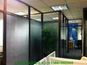 双层玻璃内置百叶隔断批发18621528765
