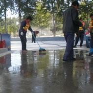 水泥地面砂浆增硬处理