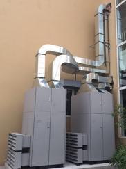 学校专用订制四恒空气净化全新风系统
