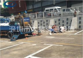 供应深圳停车场划线