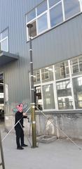 16米碳纤维车载手动式可移动铁箱升降杆应急照明灯避雷针探照灯