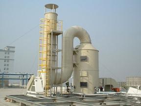 广东酸碱废气处理塔、佛山酸雾净化工程、东莞PP喷淋塔