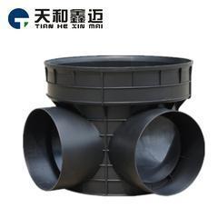 天和鑫迈塑料检查井厂家直销 市政排水专用检查井规格齐全