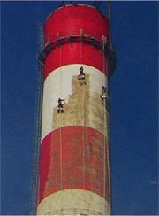 烟囱刷油漆公司|烟囱刷涂料厂家