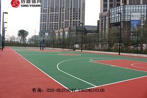 云南篮球场建设工程|篮球场材料厂家价格