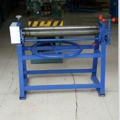 东莞偏三星卷板机  1米实心轴滚板机